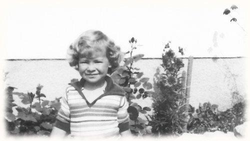 Christine mit 4 Jahren